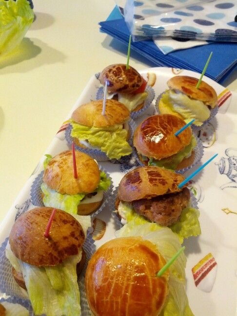 Mini hamburgher