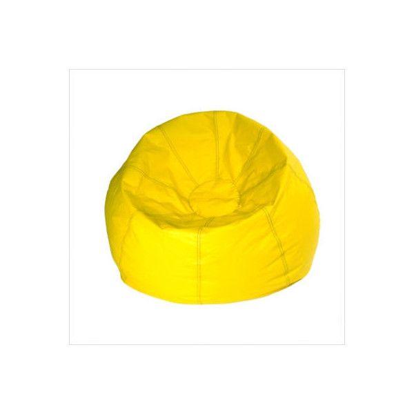 X Rocker - 13216 - Yellow Bean Bag Chair | StudentMarket.com, Inc.