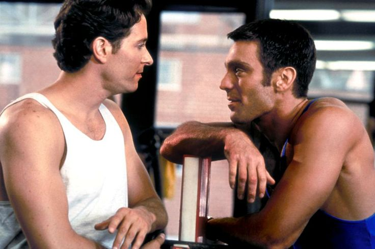Steven Weber, Michael T. Weiss, 1995 | Essential Gay Themed Films To Watch, Jeffrey http://gay-themed-films.com/films-to-watch-jeffrey/