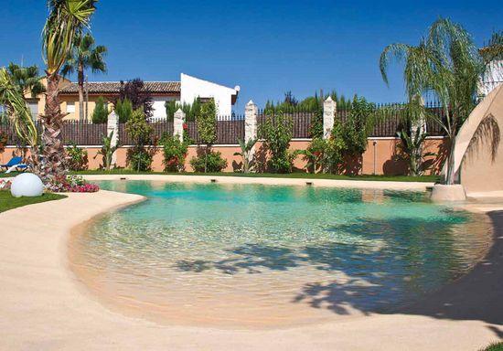 1000 ideias sobre piscina com entrada de areia de praia for Entrada piscina