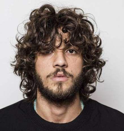 54 Ideen für Frisuren Männer Messy Curls