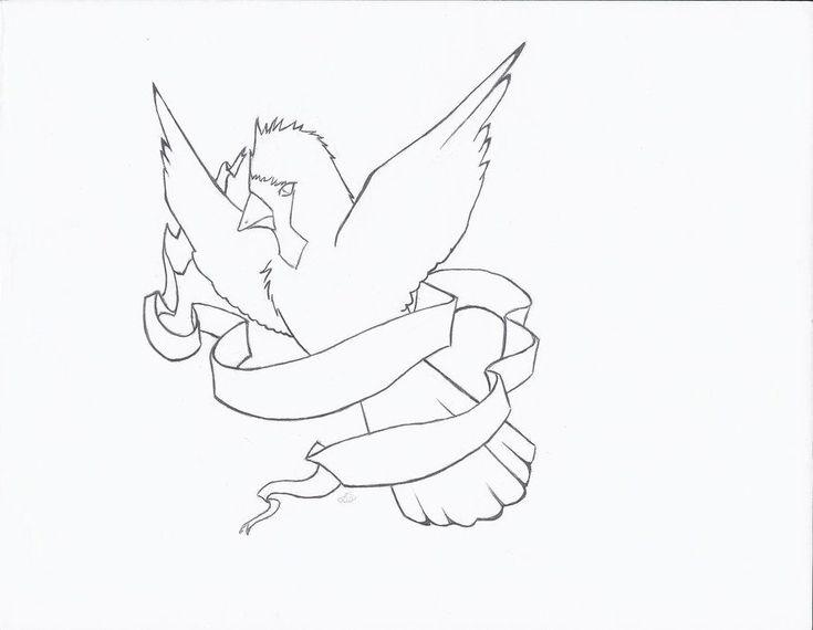 Cardinal Bird Outline Cardinal Bird Tattoos