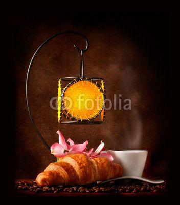 Hot Coffee - Caffè caldo con candela a pendolo