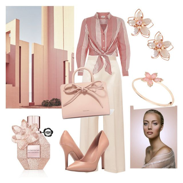 """Dare to Ware Contest"" by jfkayla on Polyvore featuring The Row, River Island, Charles by Charles David, Ricardo, Mansur Gavriel and NAKAMOL"