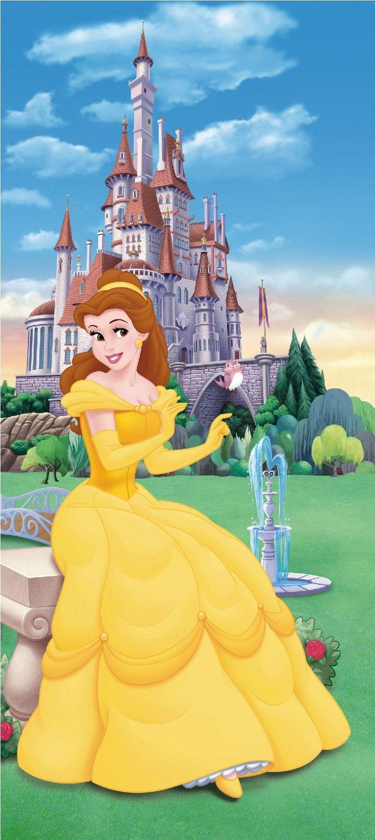 Prinzessin Fototapete von Walt Disney fürs Kinderzimmer kaufen ...