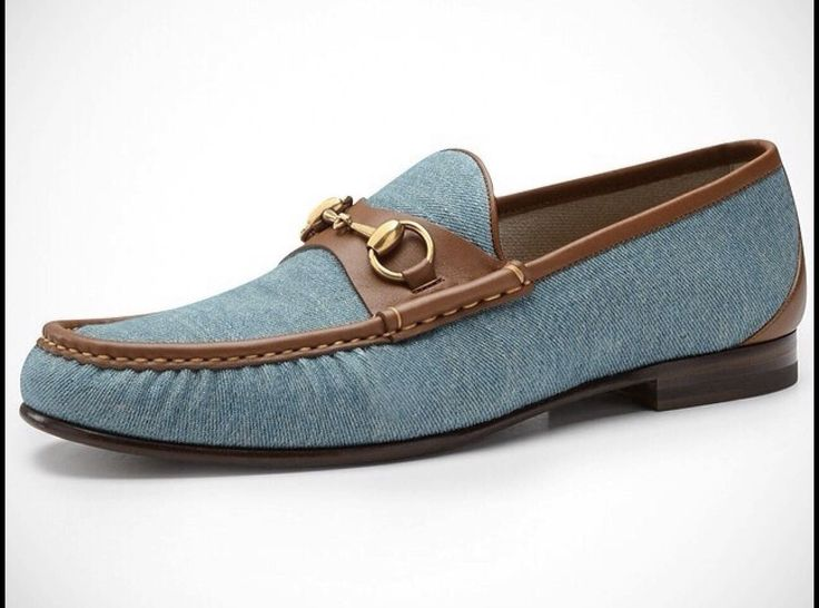 Roos 1953 Denim Horsebit Loafer by Gucci
