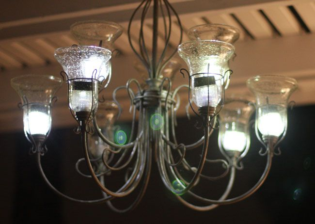 making a solar chandelier easy repurpose project