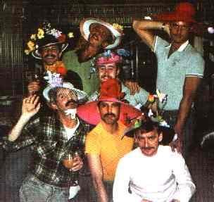 One of the Infamous Hat Parties Freddie Mercury