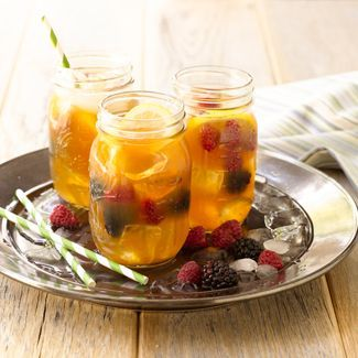 Nothing tastes more like Spring than my Berry Lemonade Iced Tea!