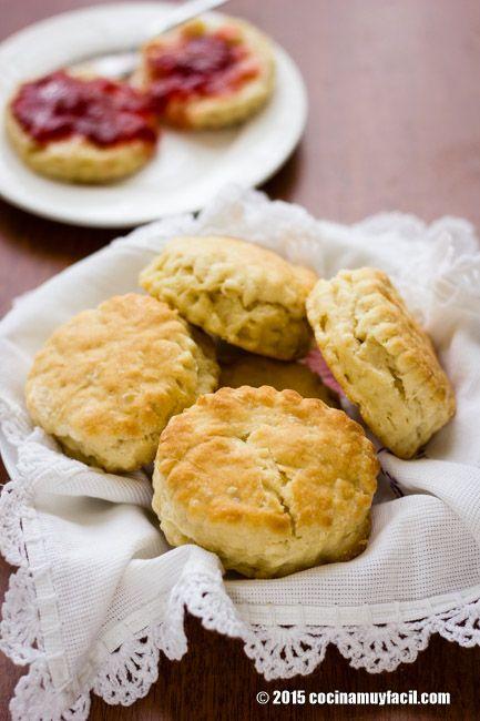 Bisquets caseros. Receta para el desayuno | Cocina Muy Fácil | http://cocinamuyfacil.com
