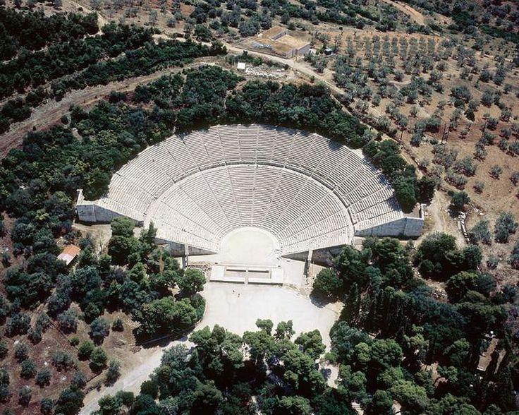 Αρχαίο Θέατρο Επιδαύρου - Ancient Epidauros Theatre
