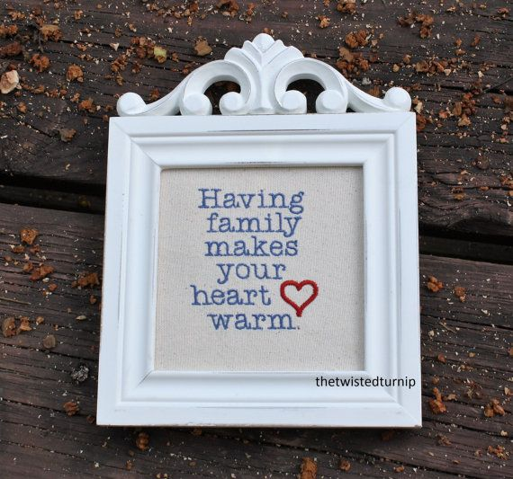 family heart saying grandmas original embroidery design instant download - Bakers Gonna Bake Kitchen Redwork Embroidery Designs