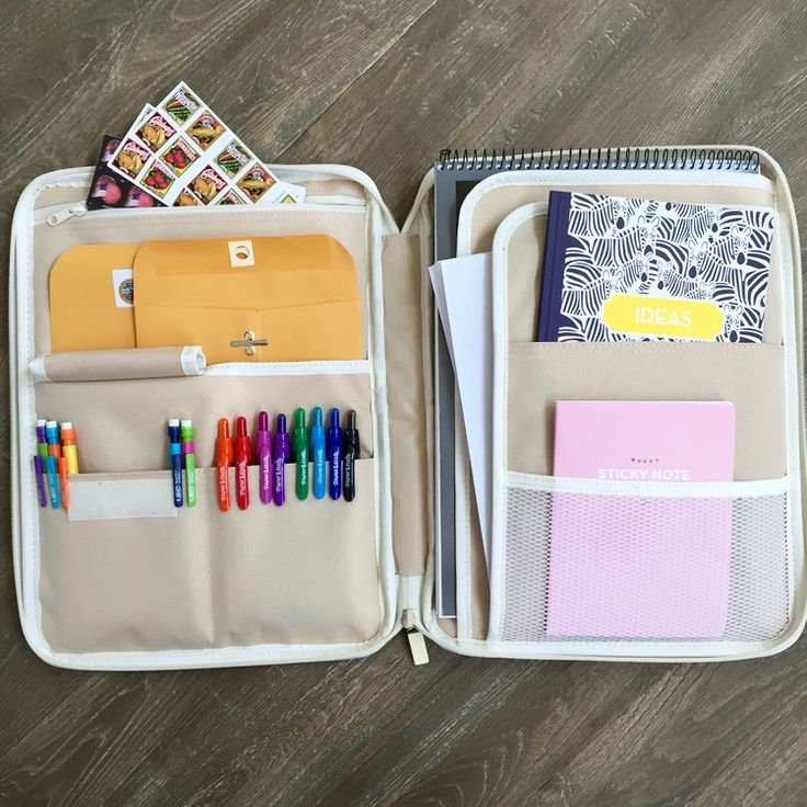I love this Letter Writing Kit from Katie the Scrapbook Lady. It would be a great gift for a college student or a friend moving far away.