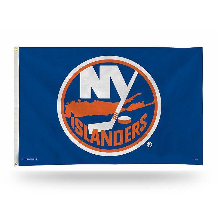 New York Islanders Banner Flag, Multicolor
