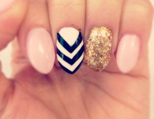 Love this nail design! Visit Beauty.com for more