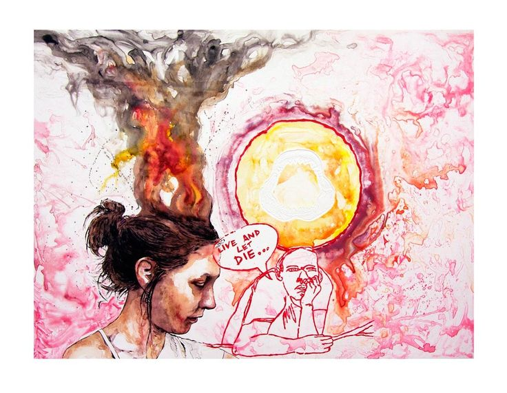 An original work by Christiaan Diedericks entitled: 'Inferno I' - watercolour monoprint on 300gsm hahnemUhle etching paper -69.5 x 94 cm For more please visit www.finearts.co.za