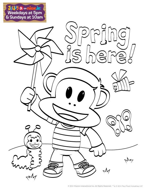 julius jr printable coloring pages - photo#6