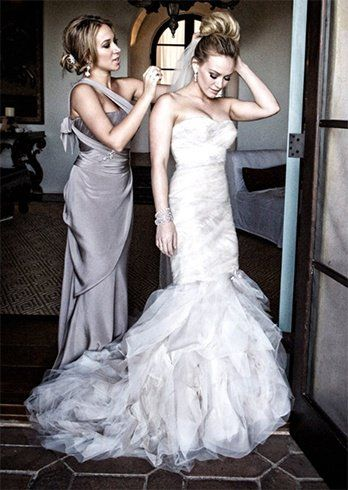 46 best hilary duff mike comrie wedding images on pinterest 16 best wedding dresses ever that will make you gasp junglespirit Choice Image