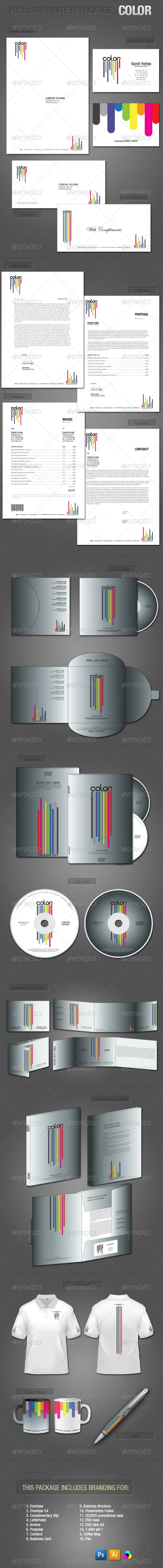 Full Corporate ID Package - Color
