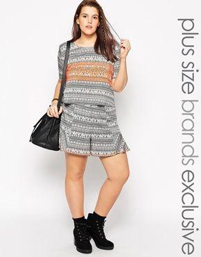 Alice & You Aztec Print Shorts