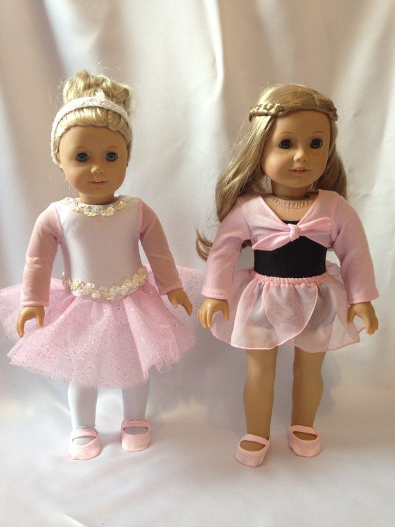 18 Doll Ballet Practice & Performance Dance by pleasantcompany01, $50.00
