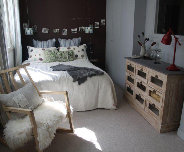 Photo Deco : Chambre  Blanc  Classique   Maison Atelier Du Monde