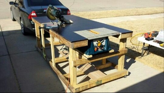 Mitre Saw Bench Plans WoodWorking Projects amp