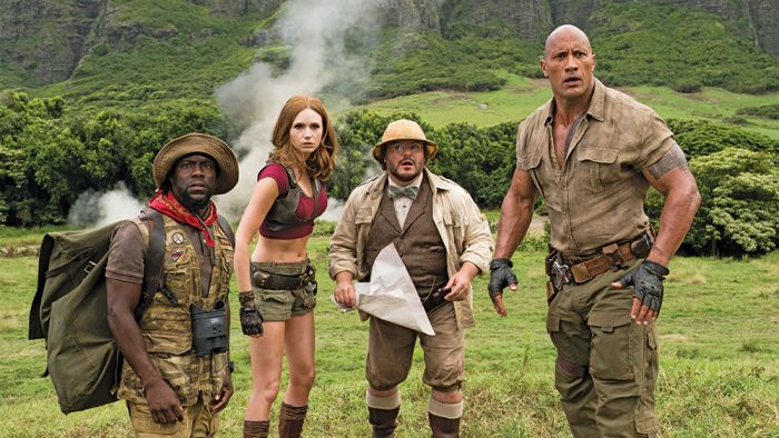 Book your tickets now for a December 8th viewing. That's 12 days before anyone else can see it. Amazon Offers Early Showings of Jumanji: Welcome to the Jungle