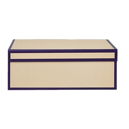 Vegas Storage Box Purple 32cm x 22cm x 12cm