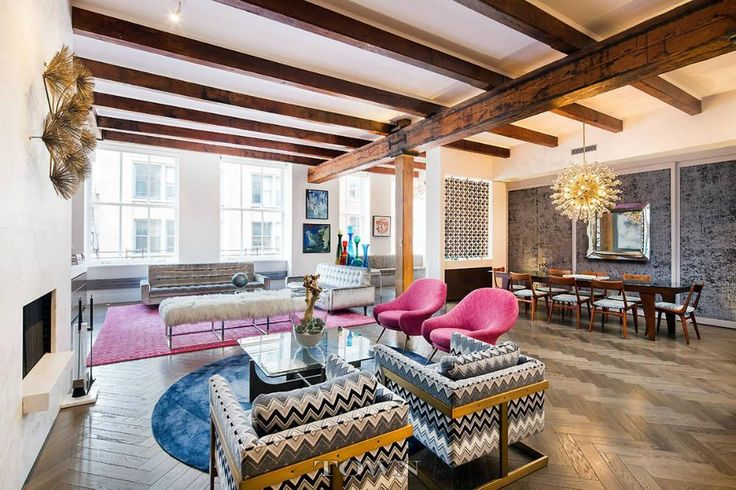 Soho Loft Perfection 'By the Same Designer as Barneys' Asks $8.77M | 6sqft
