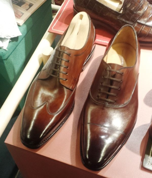 Paolo Scarfo Wing Tip Derby and Oxford Cap Toe