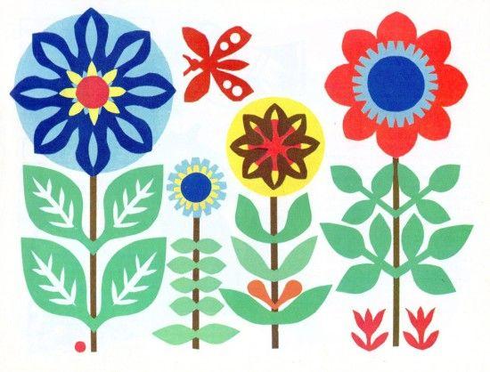 via Present & Correct: 1970S German, Craft Books, Flower Pot, Beverage Redesign, Book Scans, Art Prints, Correct Blog, Cutout Ideas, German Crafts