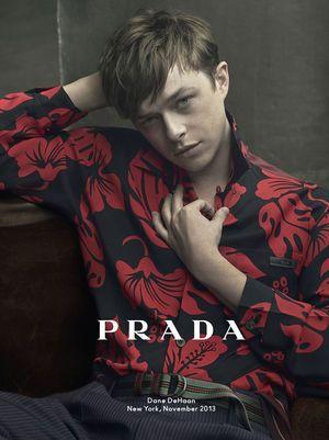 鬱屈した表情が人気の秘密?PRADAのモデルも務めた。デイン・デハーンの作品