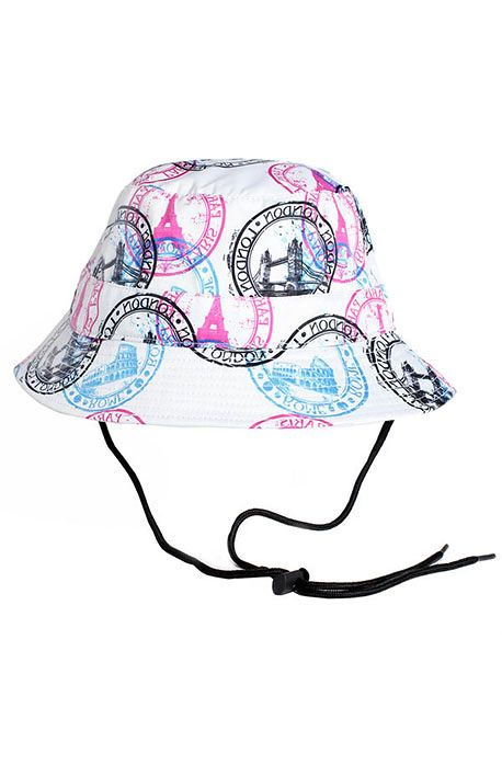 The Wanderer Bucket Hat with String
