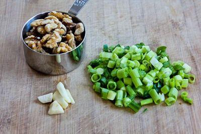 Kitchen®: Recipe for Basil, Arugula, Scallion, and Lemon Pesto Sauce ...