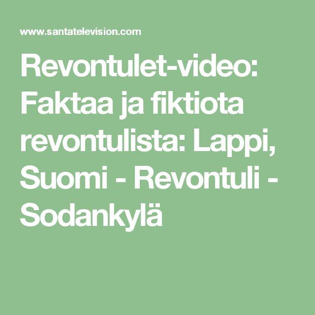 Revontulet-video: Faktaa ja fiktiota revontulista: Lappi, Suomi - Revontuli - Sodankylä