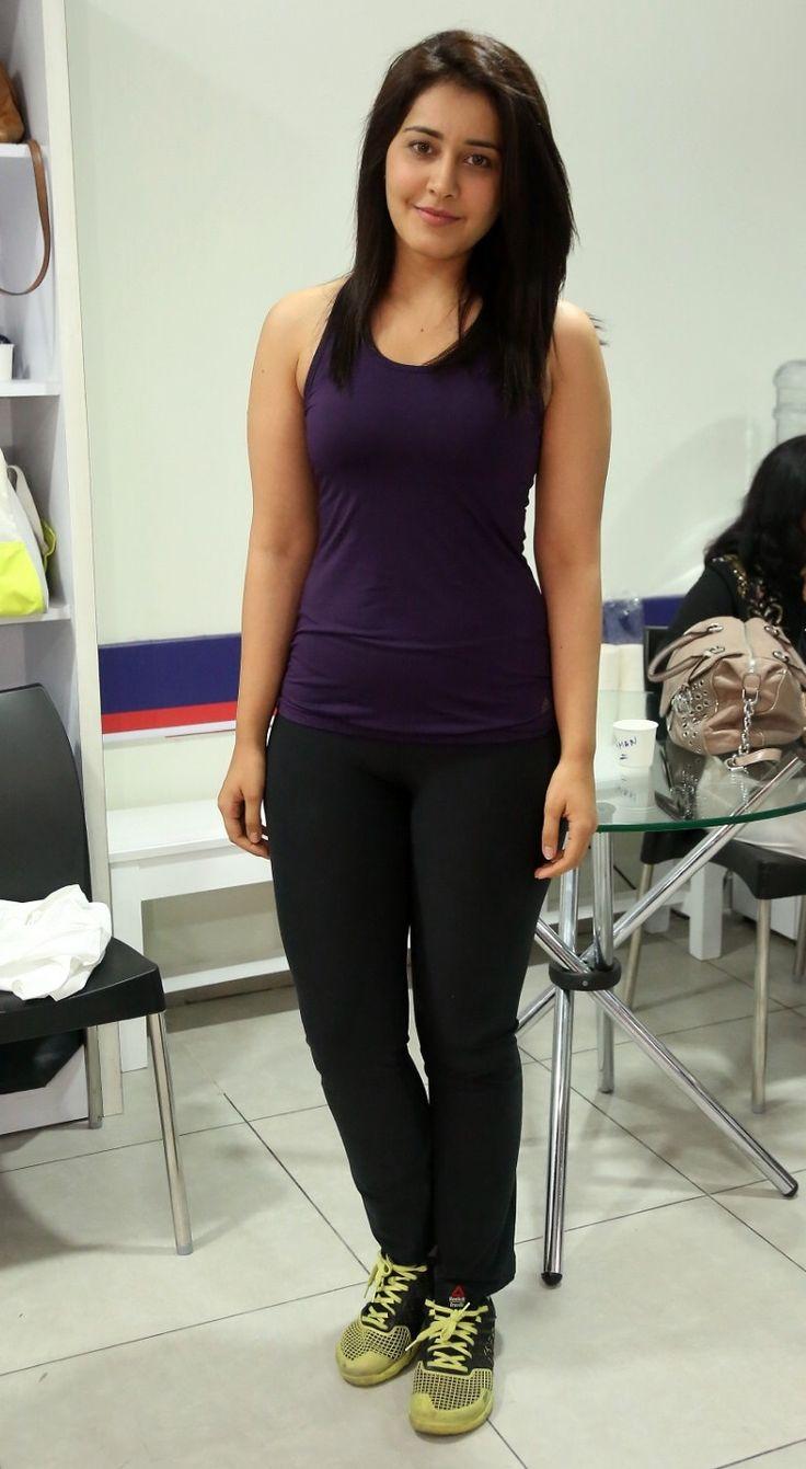 Rashi Khanna F45 Gym launch Photos | Bollywood Designer Dress ...