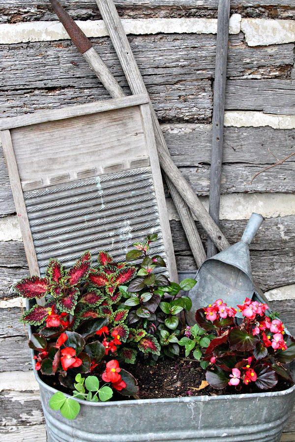 8 Best Uses For Antique Wash Tubs Images On Pinterest
