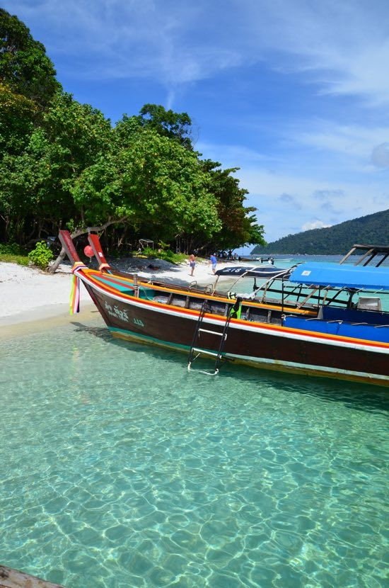 Ko Lipe is gorgeous in places.