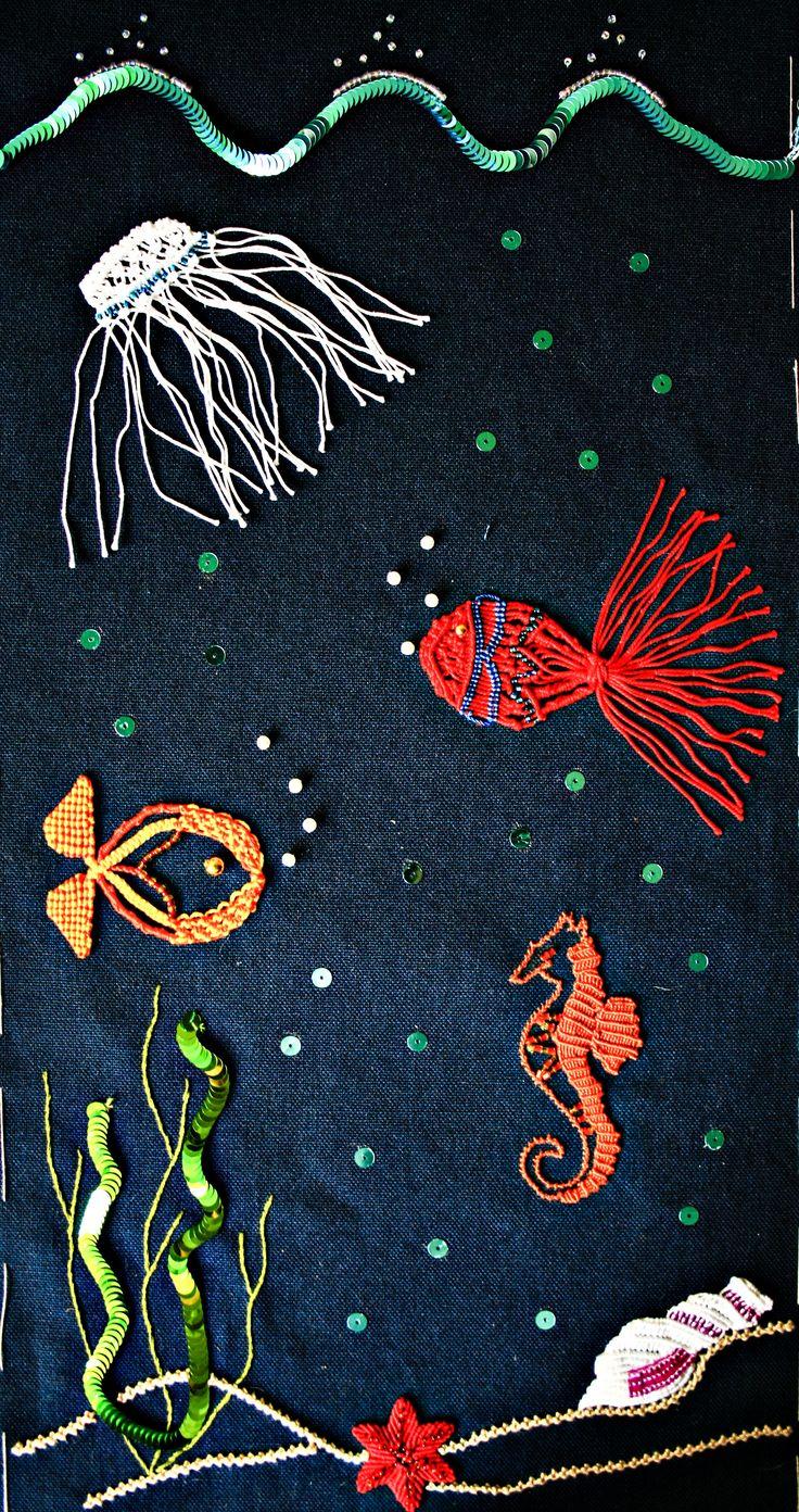 Under the sea macramè