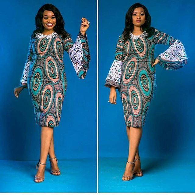 beautiful and classic ankara styles that are simple and elegant in 2018