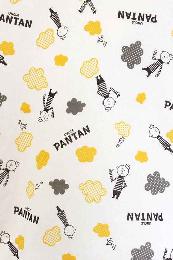アンクルパンタン、ピッコロサーカスのパジャマが発売されました! | イラストレーションファイル・キャラクターズセレクション|illustration FILE - Characters Selection 2015年11月25日  「キャラセレ」の人気キャラクター、市原淳さんの「アンクルパンタン」、ふるやたかしさんの「ピッコロサーカス」がデザインされたパジャマが、(株)カイタックファミリーから発売されました。 それぞれ色違いの2種類で、計4種類。パジャマとしてだけでなく部屋着として楽しめるかわいいアイテムです。 11月からファッションセンターしまむらで発売中。(一部店舗を除く) 販売価格:1,760円