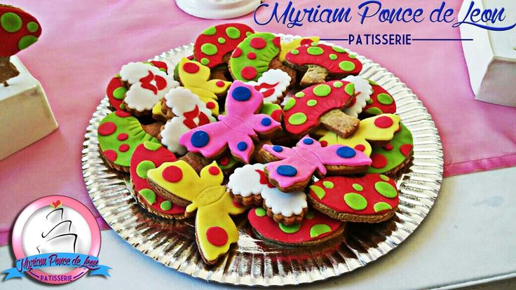 Cookies decoradas con fondand
