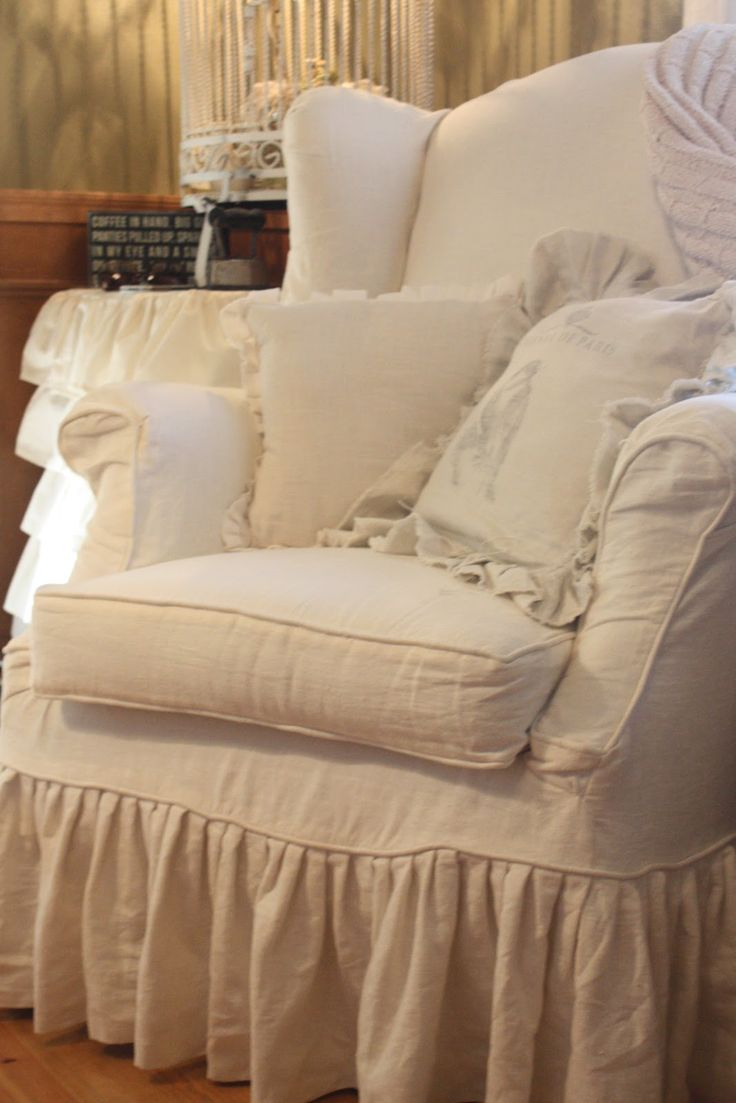 1000+ Images About Shabby Chic Chair Covers On Pinterest