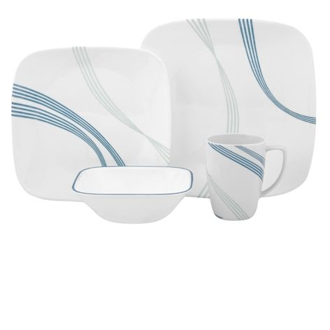 Share this if you really love this #Corelle Dinner set.
