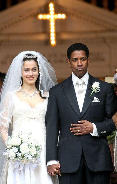 """Denzel Washington, Lymari Nadal in """"American Gangster"""" (2007). DIRECTOR: Ridley Scott."""