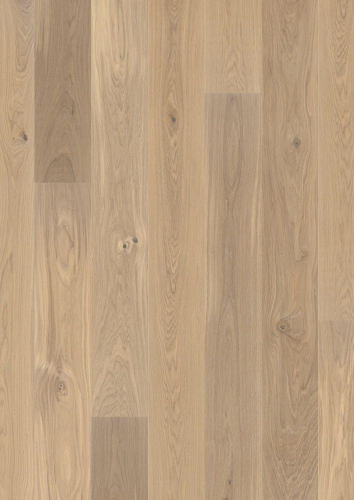 Opus parkett eik 1-stav 181 hvit matt lakk  fas 13x181x2200 mm