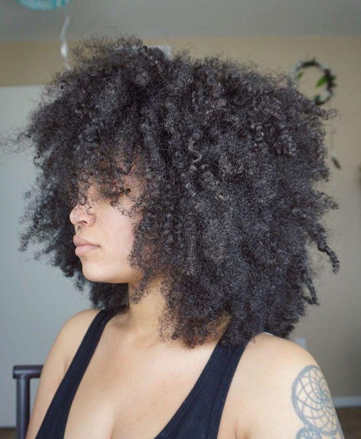 Natural Afro Hair