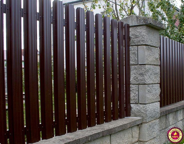 Металлический штакетник – идеальный материал для ограждений. Забор из него…