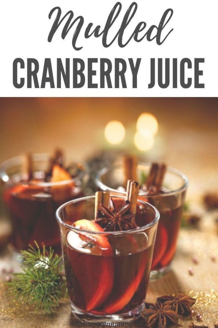 Mulled Cranberry Juice #cranberry #mocktail #Christmas #Chrristmasdrinks   – drinks nonalcoholic